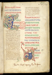 Registrum of Gregory the Great f.2r